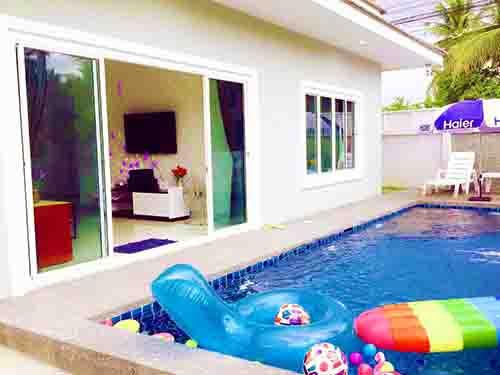 บ้านพักหัวหิน เดอะ รีเจ้นท์ พูลวิลล่า The Regent Huahin Poolvilla