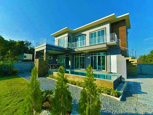 บ้านพักหัวหิน เดอะ สการ์เล็ต พูลวิลล่า The Scarlet Poolvilla Huahin