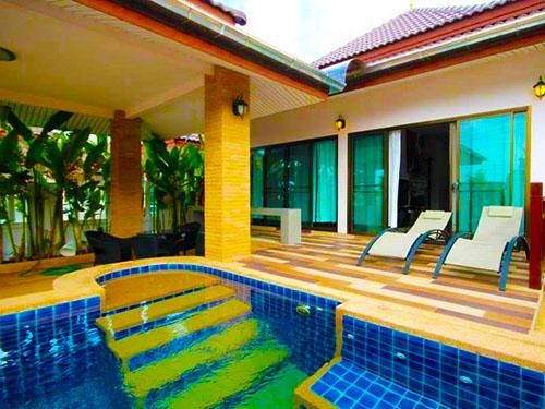 บ้านพักหัวหิน พฤกษา หัวหิน พูลวิลล่า Purksa Huahin Poolvilla