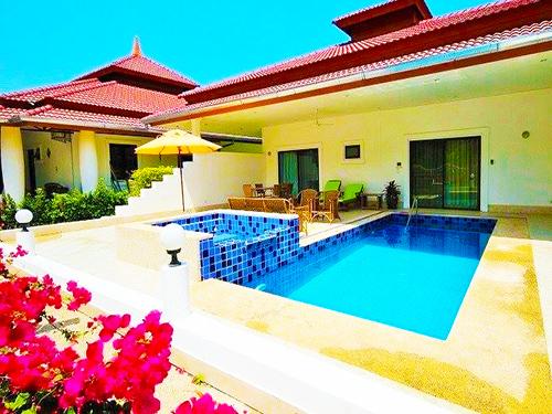 บ้านพักหัวหิน ภูวาริน พูลวิลล่า หัวหิน
