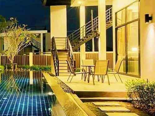 บ้านพักหัวหิน นิคาชิโอ พูลวิลล่า Nicasio Poolvilla Huahin Hotel