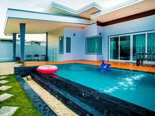 บ้านพักหัวหิน มารีน รีฟ พูลวิลล่า Marine Reef Poolvilla Huahin