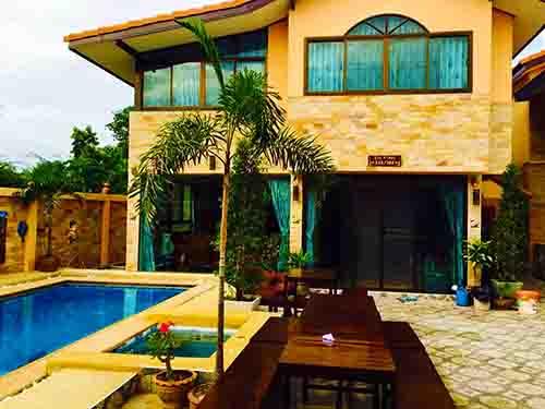 บ้านพักชะอำ มณีนาคร พูลวิลล่า Maninakorn Poolvilla Cha-Am