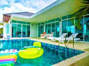 บ้านพักชะอำ เดอะ เรสโทร พูลวิลล่า The Restro Poolvilla Cha-Am