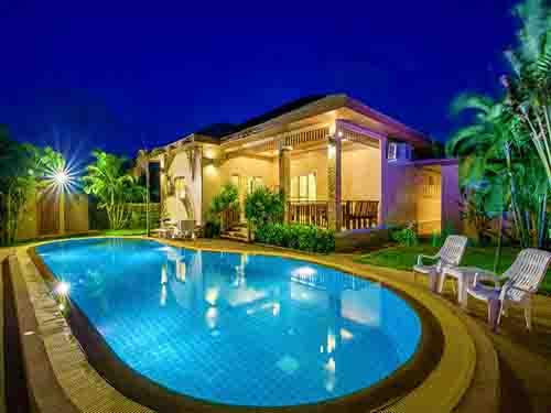 บ้านพักชะอำ เพชรลดา พูลวิลล่า Petchrada Poolvilla House Cha-Am
