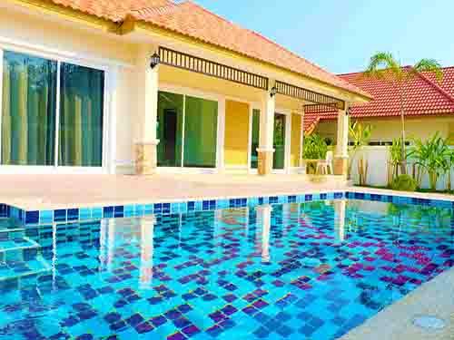 บ้านพักหัวหิน ดิ ไอริส พูลวิลล่า The Iris Poolvilla House Huahin
