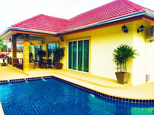 บ้านพักหัวหิน นภาลัย พูลวิลล่า หัวหิน