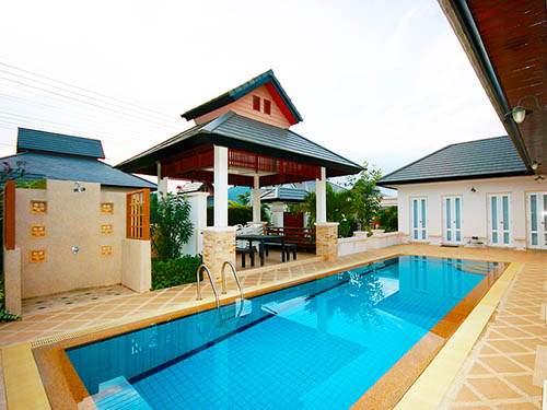 บ้านพักหัวหิน แฮมเลต  พูลวิลล่า