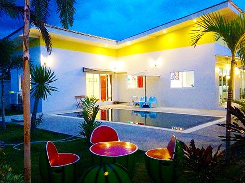 บ้านพักหัวหิน ฟูลมูน พูลวิลล่า หัวหิน
