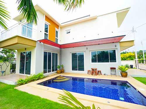 บ้านพักหัวหิน ฮ็อปอินน์ พูลวิลล่า หัวหิน