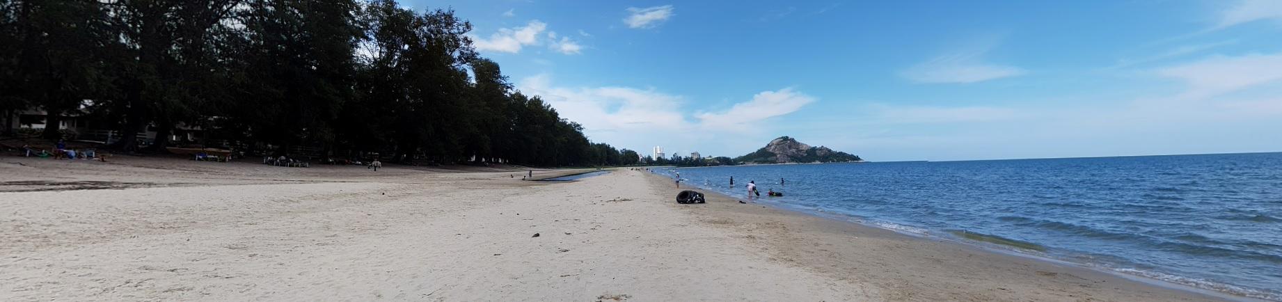 Suanson Pradipat Beach Huahin หาดสวนสนประดิพันธ์ หัวหิน