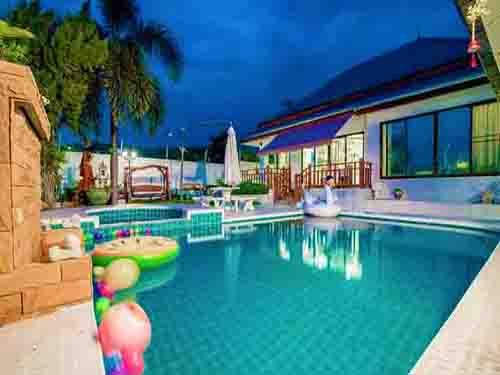 ที่พักหัวหิน ธัญญา หัวหิน พูลวิลล่า หัวหิน Tanya Huahin Poolvilla Hotel