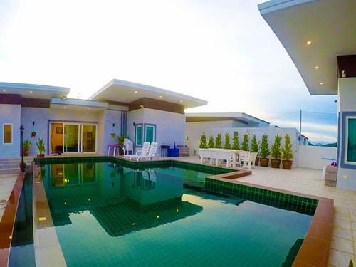บ้านพักหัวหิน เอเวอร์กรีน เพลส พูลวิลล่า หัวหิน Evergreen Place Huahin PoolVilla
