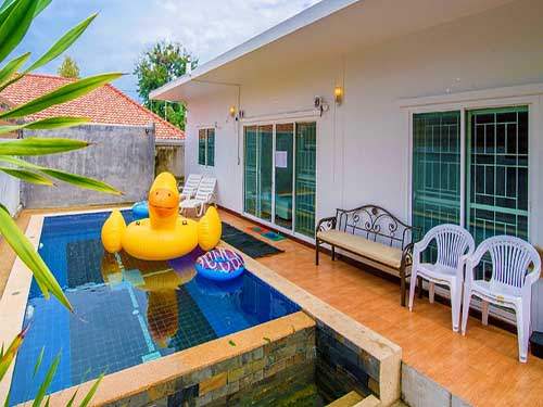 บ้านพักหัวหิน มอร์ตัน พูลวิลล่า หัวหิน Morton Huahin Poolvilla Hotel