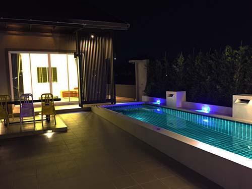 บ้านพักหัวหิน แสนสบาย หัวหิน พูลวิลล่า Baansansabuay  Poolgarden Huahin