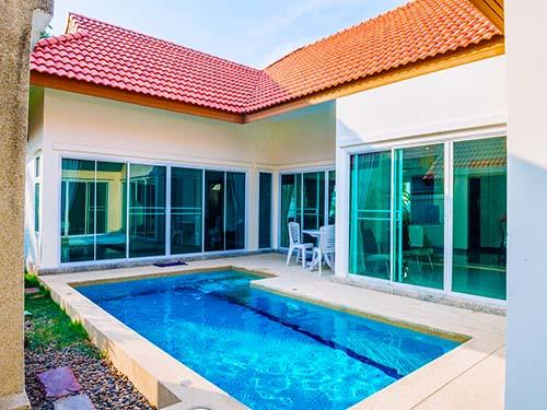 บ้านพักหัวหิน สมายดรีม พูลวิลล่า SmileDream Huahin Poolvilla