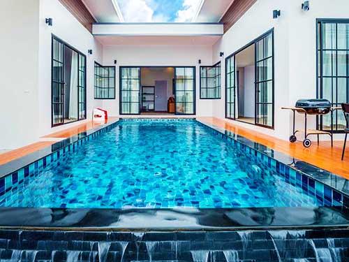 บ้านพักหัวหิน เมโทรโพล พูลวิลล่า หัวหิน Metropol Huahin Poolvilla