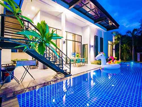 บ้านพักหัวหิน นิคาซิโอ หัวหิน พูลวิลล่า Nicasio Huahin poolvilla