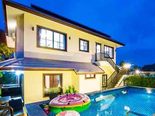 บ้านพักหัวหิน มอริสวิลล์ หัวหิน พูลวิลล่า Morrisville Poolvilla Huahin