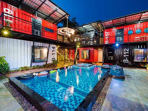 บ้านพักหัวหิน เฟิร์สเฮาส์ หัวหิน พูลวิลล่า (MODEL2) First House Huahin Poolvilla (Model2) ที่พักหัวหิน บังกะโลหัวหิน โรงแรมหัวหิน