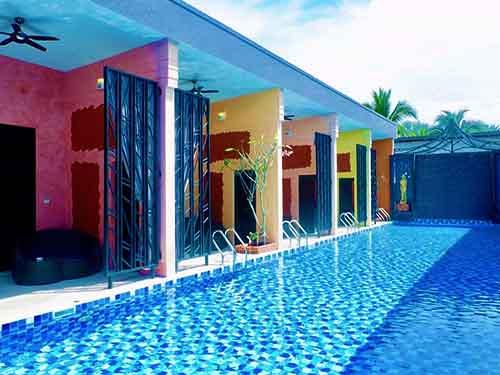 บ้านพักหัวหิน เดอะ ฟลามิงโก หัวหิน พูลวิลล่า The Flamingo House Huahin ที่พักหัวหิน บังกะโลหัวหิน โรงแรมหัวหิน
