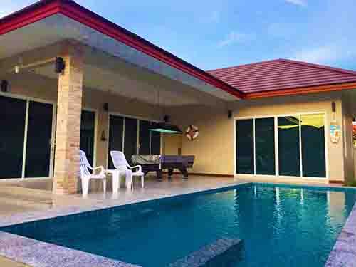 ที่พักชะอำ เซเรนิตี้ ชะอำ พูลวิลล่า Serenity Cha-Am Poolvilla Huahin