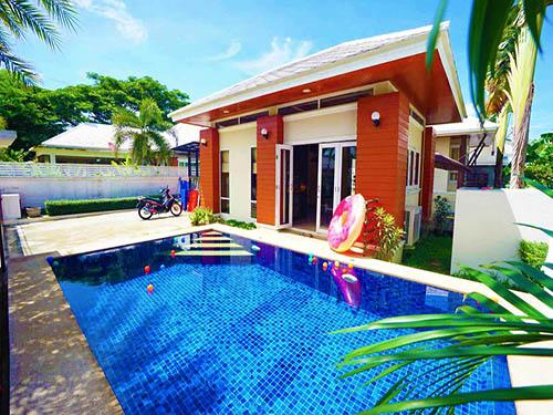 ที่พักหัวหิน มันตราปุระ พูลวิลล่า Mantra Pura Poolvilla Huahin
