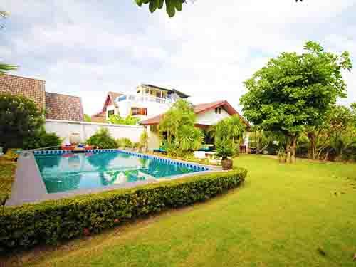 บ้านพักหัวหิน หาดน้ำใส หัวหิน พูลวิลล่า Namsai Beach Huahin poolvilla Hotel