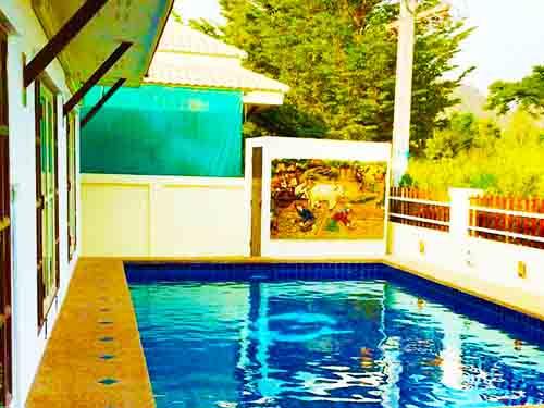บ้านพักหัวหิน ชื่นกมล พูลวิลล่า หัวหิน ชะอำ บ้านพักหัวหิน Cheunkamol Huahin Cha-Am poolvilla hotel