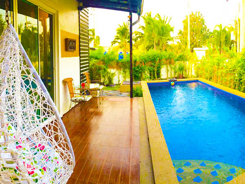 บ้านพักหัวหิน มัณฑนา พูลวิลล่า หัวหิน ชะอำ บ้านพักหัวหิน Monthana Huahin Poolvilla Hotel หัวหินบ้านพัก
