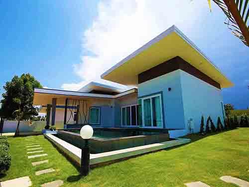 บ้านพักหัวหิน วิคทอเรีย พูลวิลล่า Victoria Poolvilla Huahin