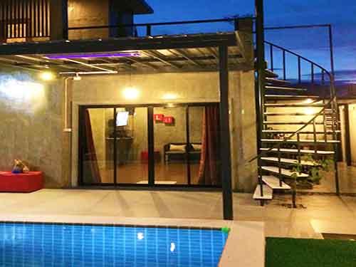 บ้านพักหัวหิน เดอะ วิคตอรี พูลวิลล่า The Victory Huahin Poolvilla