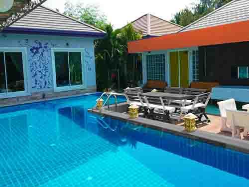 บ้านพักหัวหิน เดอะ ร็อคโฮม หัวหิน พูลวิลล่า The Rock Home Huahin Poolvilla Hotel