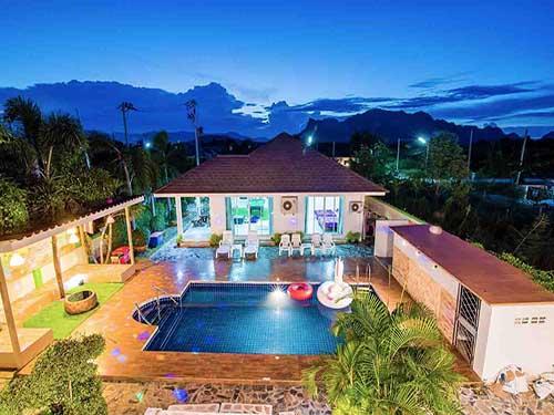 บ้านพักหัวหิน อินทนิล หัวหิน พูลวิลล่า Intanil Huahin poolvilla hotel