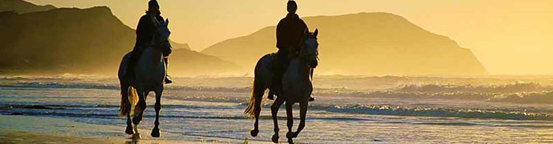 การขี่ม้าบริเวณชายหาดหัวหิน