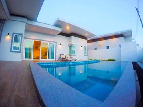 บ้านพักหัวหิน ชเลราญ หัวหิน ชะอำ พูลวิลล่า Chalelarn Huahin Cha-Am Poolvilla Hotel