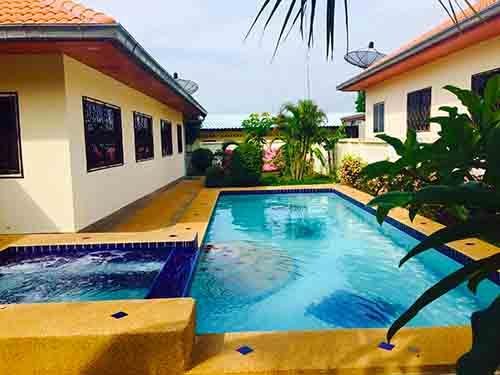 บ้านพักหัวหิน สุรินตรา พูลวิลล่า หัวหิน ชะอำ Surintra Huahin Cha-Am Poolvilla Hotel
