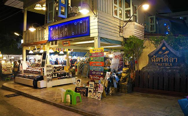 Chatsila night market Huahin ตลาดฉัตรศิลา หัวหิน