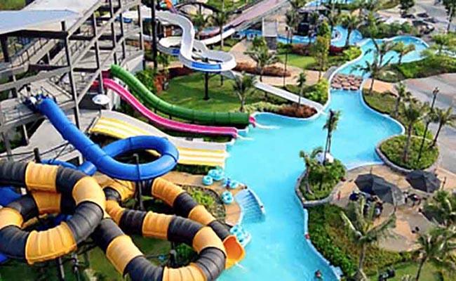 Huahin Black Mountain Water Park  สวนน้ำ แบล็ค เมาน์เทน หัวหิน Huahin hotel