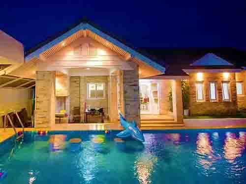 ที่พักหัวหิน เพนต์ เฮาส์ พูลวิลล่า Pent House Huahin Poolvilla
