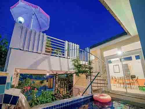 บ้านพักหัวหิน วิสา หัวหิน พูลวิลล่า Visa Huahin Hotel Poovilla