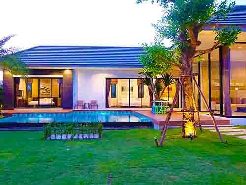 ที่พักหัวหิน ฮิลล์ไซด์ หัวหิน ชะอำ พูลวิลล่า บ้านพักหัวหิน HillSide Huahin Cha-Am Poolvilla Hotel