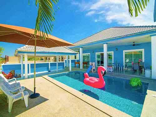 บ้านพักชะอำ ไนซ์ อินน์ พูลวิลล่า หัวหิน Nice Inn Cha-Am Poolvilla Huahin Hotel