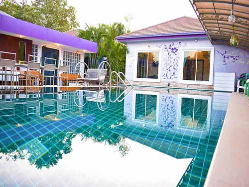 บ้านพักหัวหิน เดอะ ร็อคโฮม หัวหิน ชะอำ พูลวิลล่า บ้านพักหัวหิน The Rock Home Huahin Cha-Am Poolvilla Hotel