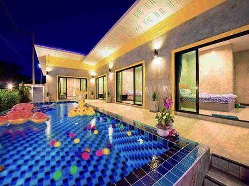 ที่พักหัวหิน มิราม่า หัวหิน พูลวิลล่า Miramar Poolvilla Huahin