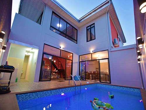 บ้านพักหัวหิน เดอะ ลอฟต์ทาวน์ หัวหิน ชะอำ พูลวิลล่า The Loft Town Poolvilla Huahin Cha-Am Hotel
