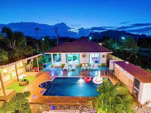 บ้านพักหัวหิน อินทนิล พูลวิลล่า ชะอำ Intanil Huahin Poolvilla Hotel