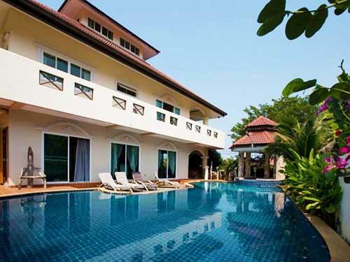 บ้านพักหัวหิน บุษรา หัวหิน พูลวิลล่า Budsara Huahin Poolvilla Hotel