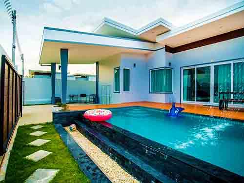 บ้านพักหัวหิน มารีน รีฟ พูลวิลล่า Marine Reef Poolvilla Huahin Hotel