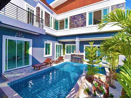 บ้านพักหัวหิน แฮมป์ตัน หัวหิน พูลวิลล่า Hampton Huahin Poolvilla Hotel